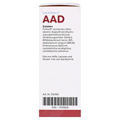 LACTOBACT AAD magensaftresistente Kapseln 40 St�ck - Linke Seite