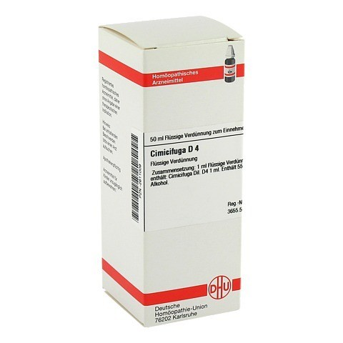 CIMICIFUGA D 4 Dilution 50 Milliliter N1