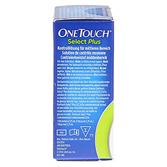 ONETOUCH SelectPlus Kontrolllösung mittel 3.75 Milliliter - Linke Seite