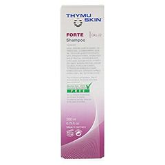 THYMUSKIN FORTE Shampoo 200 Milliliter - Rückseite