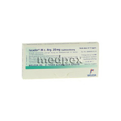 ISCADOR M c.Arg 20 mg Injektionsl�sung 7x1 Milliliter N1