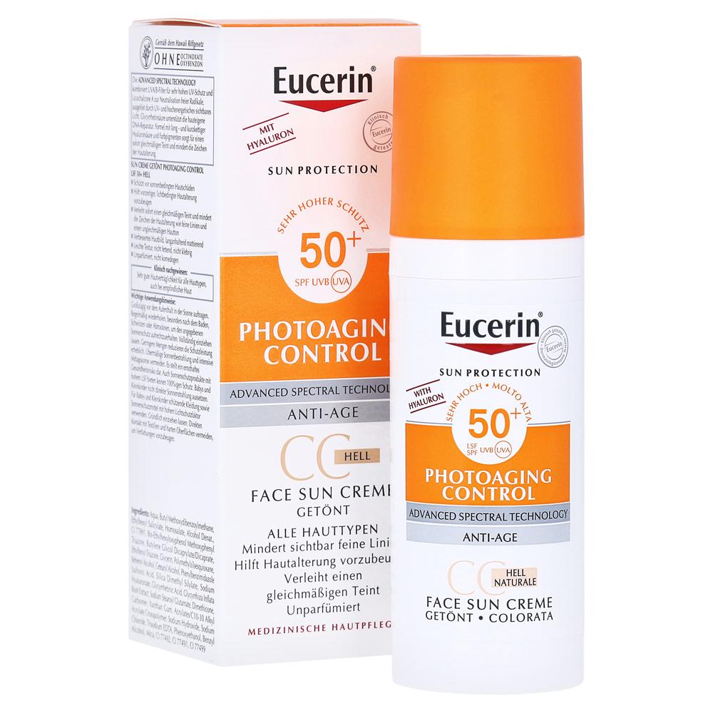 eucerin sun cc creme get nt hell lsf 50 50 milliliter. Black Bedroom Furniture Sets. Home Design Ideas