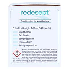 REDESEPT Spezialreiniger für Mundduschen Pulver 150 Gramm - Rechte Seite