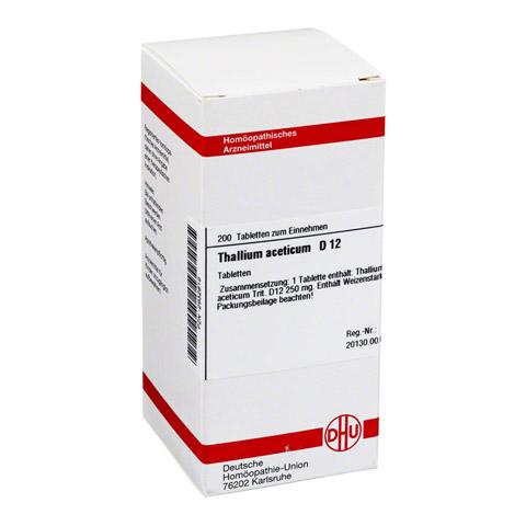 THALLIUM ACETICUM D 12 Tabletten 200 St�ck N2