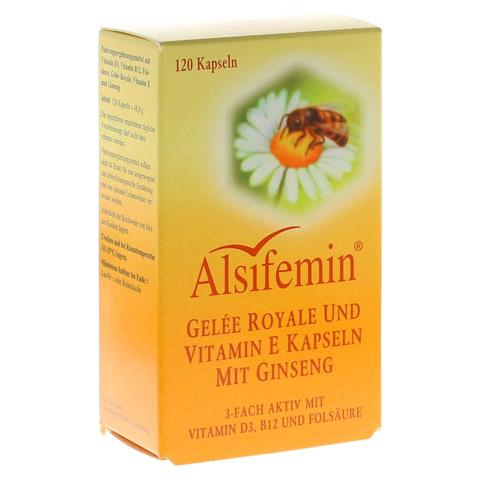 ALSIFEMIN Gelee Royal+Vit.E m.Ginseng Kapseln 120 Stück