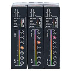 MYSIZE Testpack 57 60 64 Kondome 3x3 Stück - Rechte Seite