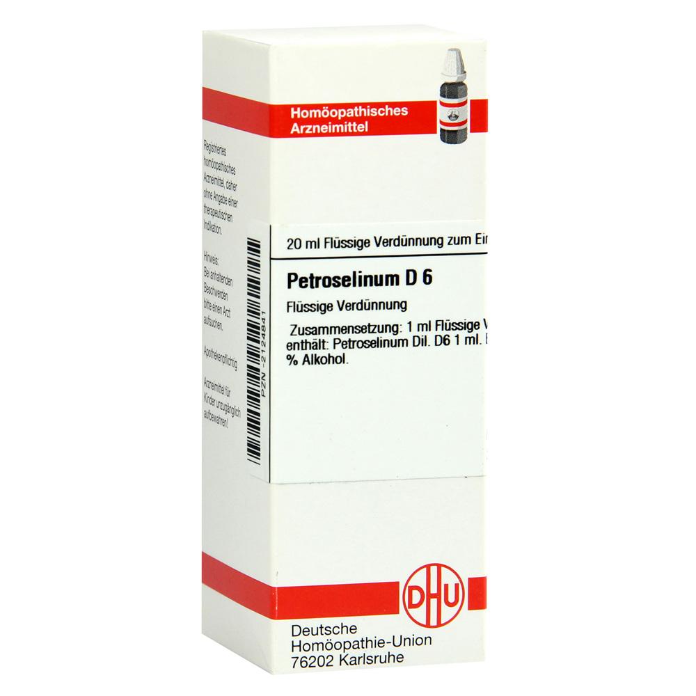 PETROSELINUM D 6 Dilution 20 Milliliter