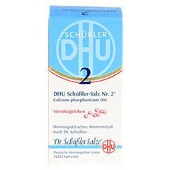BIOCHEMIE DHU 2 Calcium phosphoricum D 12 Globuli 10 Gramm N1 - Vorderseite
