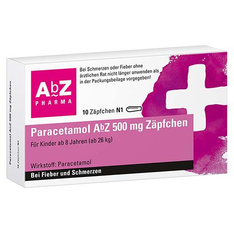 Paracetamol AbZ 500mg 10 St�ck N1