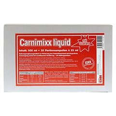CARNIMIXX Liquid Ampullen 20 Stück - Vorderseite