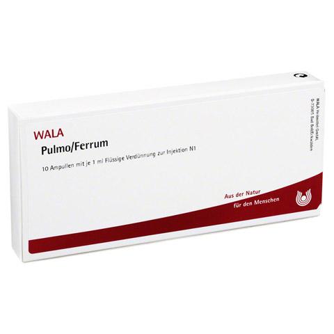 PULMO/ FERRUM Ampullen 10x1 Milliliter N1